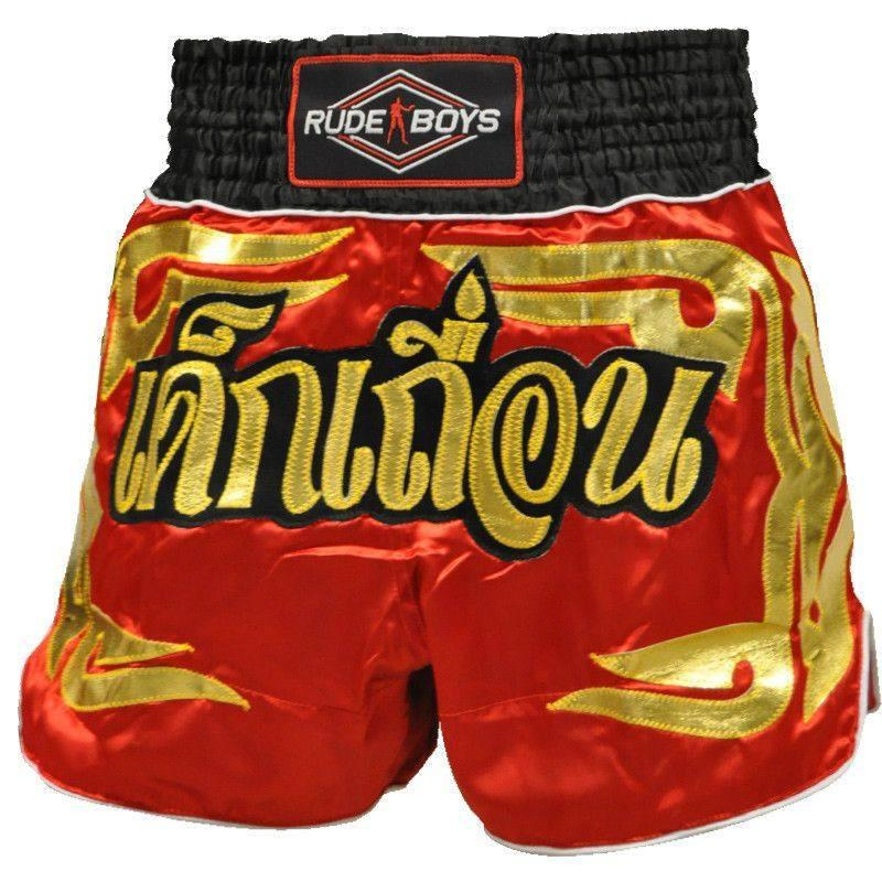 Short/Pantalón - Short Muay Thai Rude Boys GOLDEN