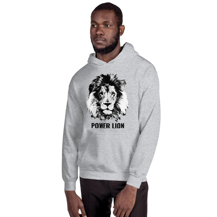 Sudadera con capucha Unisex  POWER LION