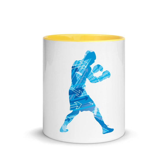 Taza color interior Boxing