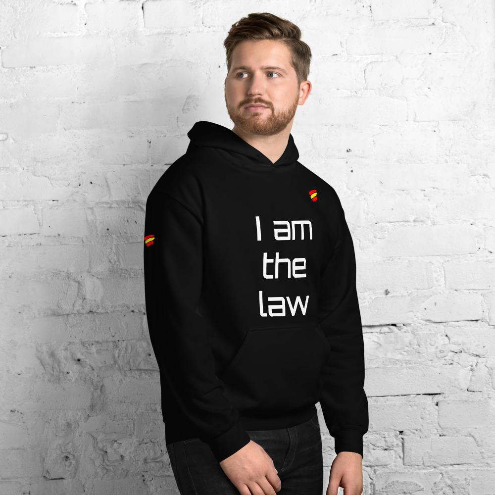 Sudadera con capucha I AM THE LAW ✌🏽