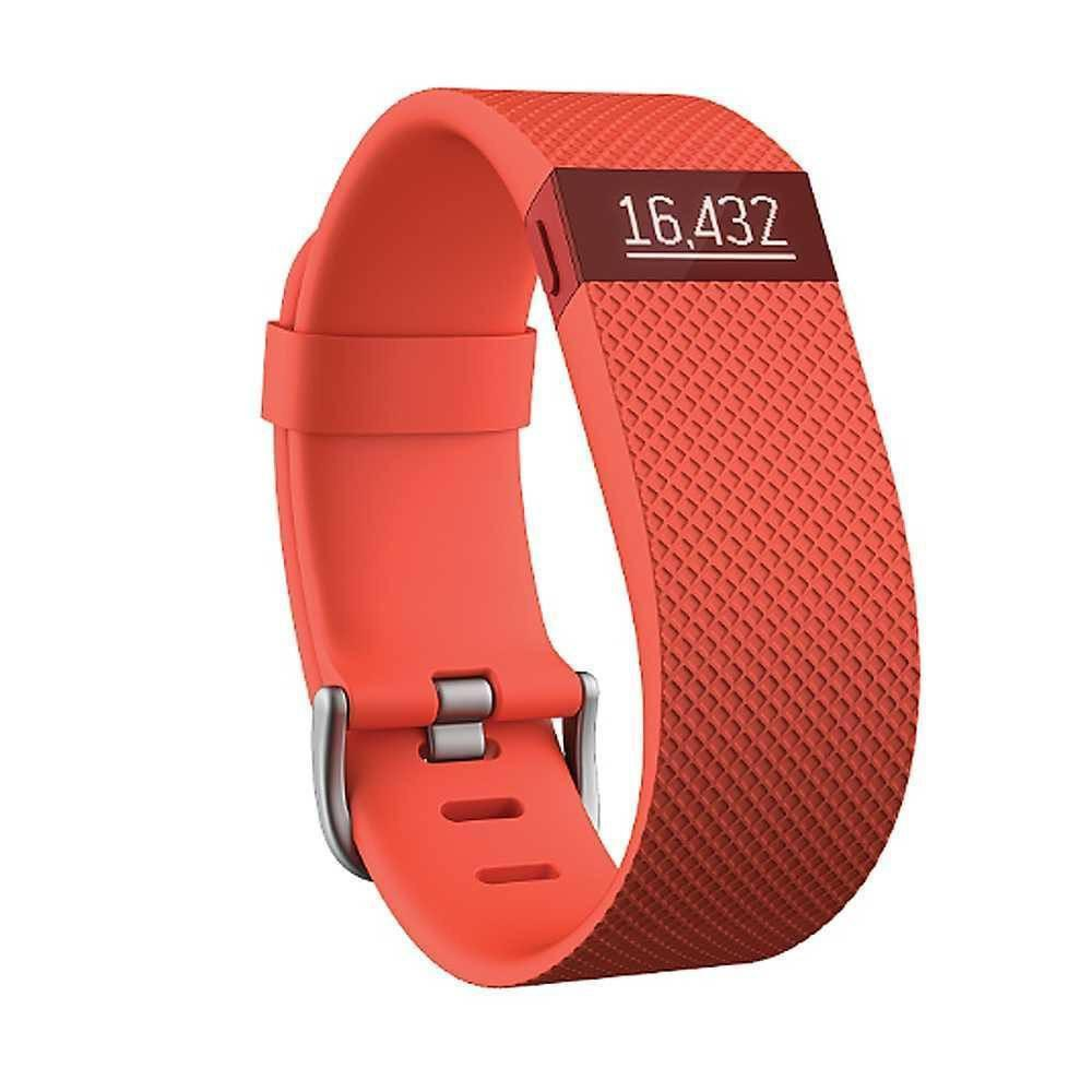 Monitor Actividad - Monitor Actividad Fitbit Charge HR Tangerine