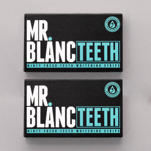 Mr Blanc Teeth Whitening Strips - 4 week supply