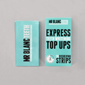 Mr Blanc Teeth Express Whitening Strips