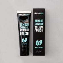 Load image into Gallery viewer, Mr Blanc Teeth Bamboo Charcoal Whitening Polish
