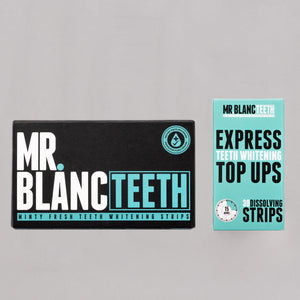 Mr Blanc Teeth Whitening Strips Bundle