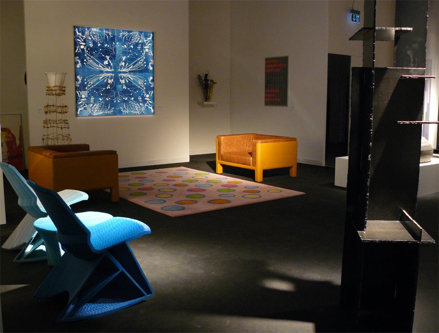 artbasel galerie vivid rotterdam dirk vander kooij endless chair table gradient blue