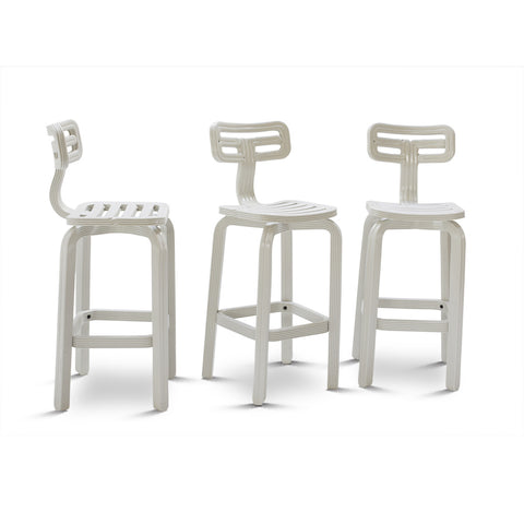 featured - chubby barstool natural white dirk vander kooij robot printed recycled plastic