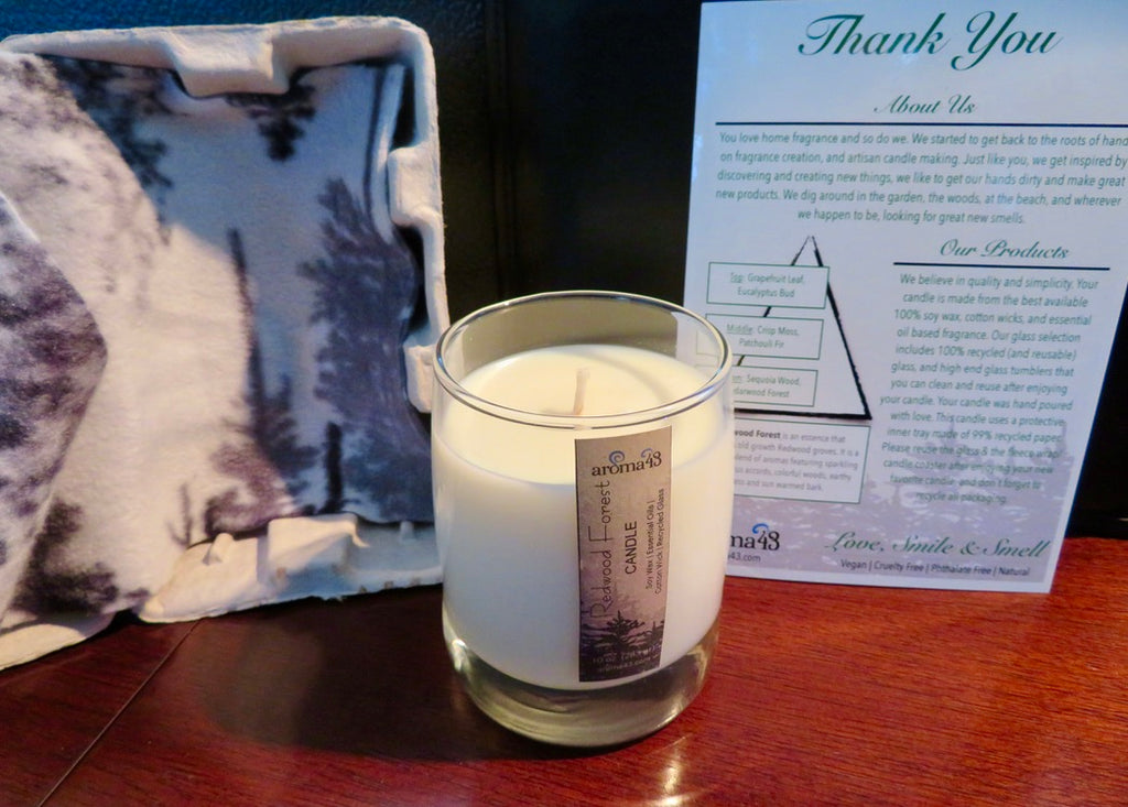Redwood Forest Eco Luxury Candle
