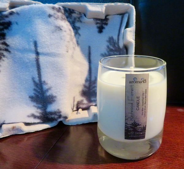 Eco Luxury Redwood Forest Candle