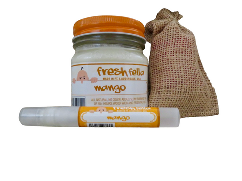 Mango  Fresh Fella Odor Eliminator Combo Set