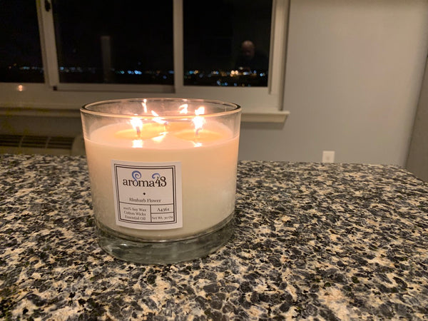 aroma43 Large 3 Wick Candle picked by Harvey