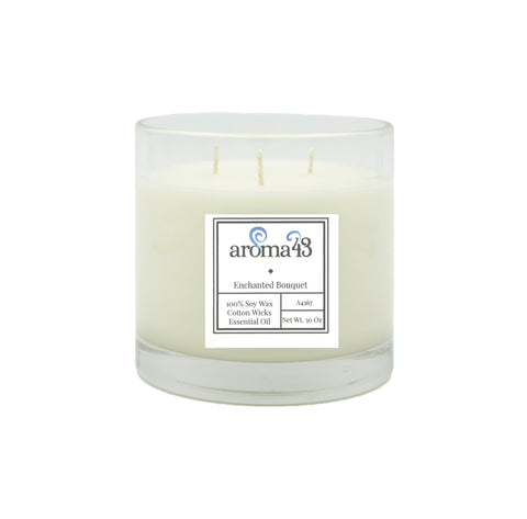 Enchanted Bouquet Large 3 Wick Candle