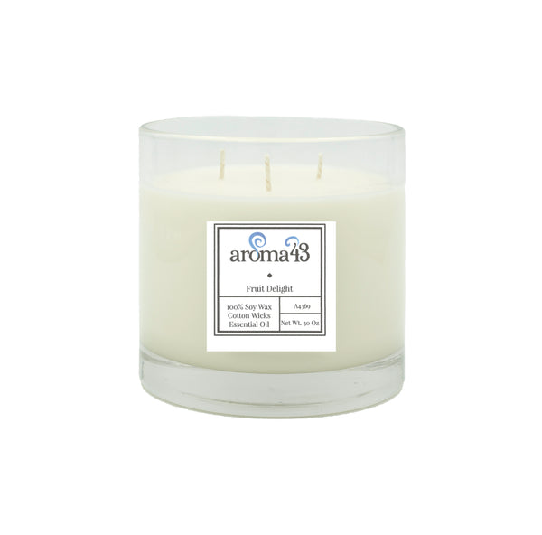 Fruit Delight Large 3 Wick Candle