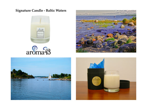 Baltic Waters Signature Candle