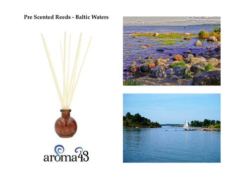 Baltic Waters Pre Scented Reeds