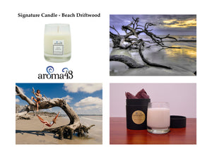 Beach Driftwood Signature Candle