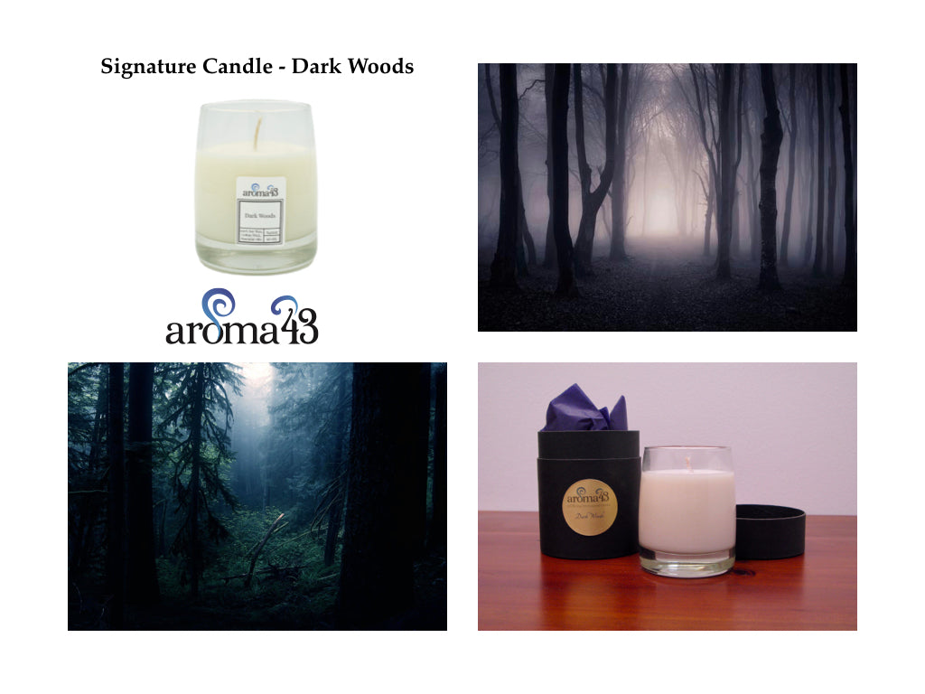 Dark Woods Signature Candle
