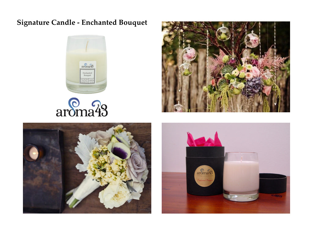 Enchanted Bouquet Signature Candle