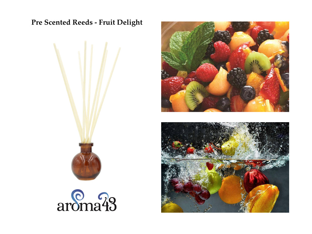 Fruit Delight Pre Scented Reeds