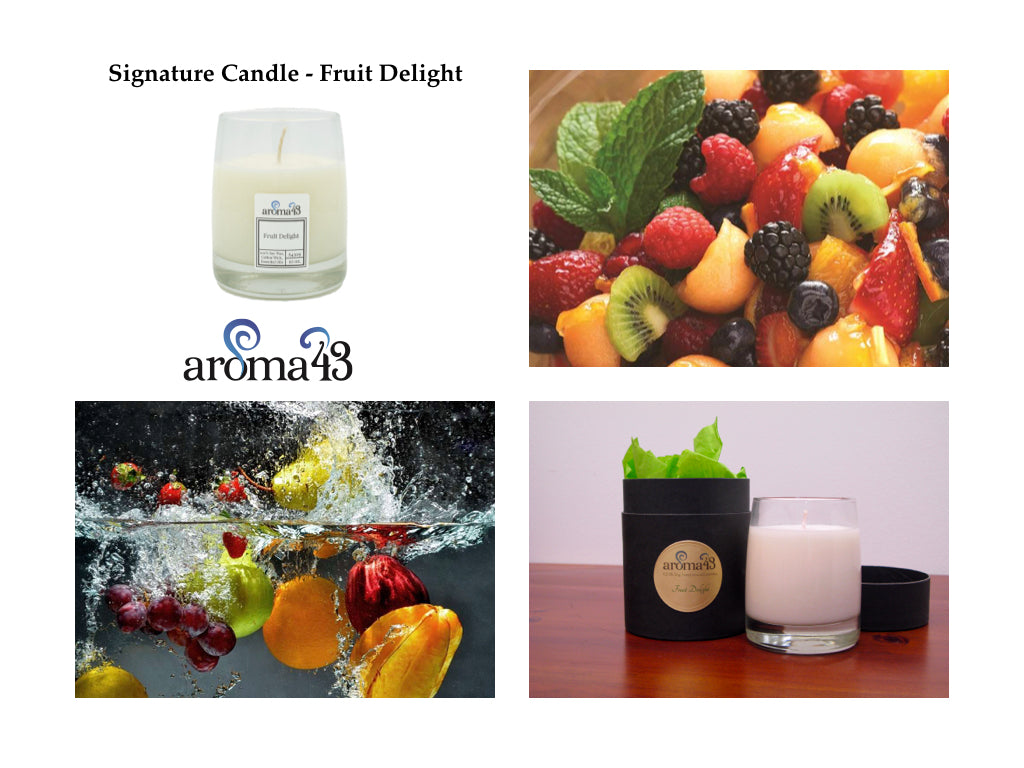 Fruit Delight Signature Candle