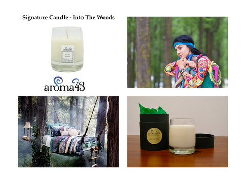Into The Woods Signature Candle