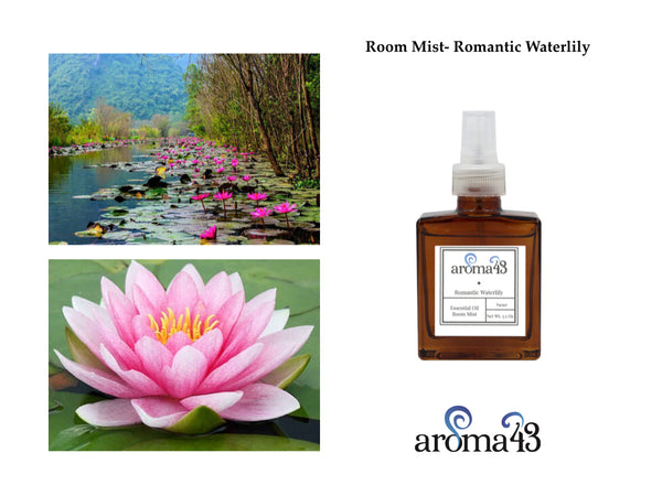 Romantic Waterlily Room Mist