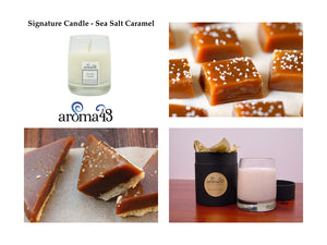 Sea Salt Caramel Signature Candle