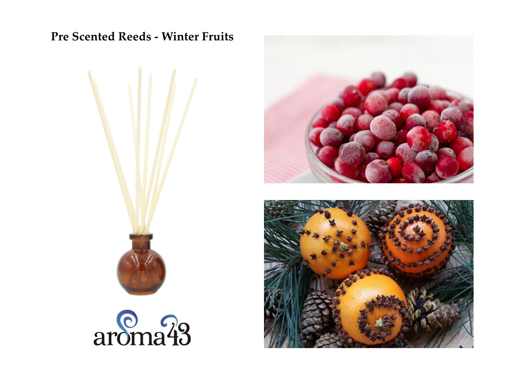 Winter Fruits Pre Scented Reeds