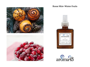 Winter Fruits Room Mist