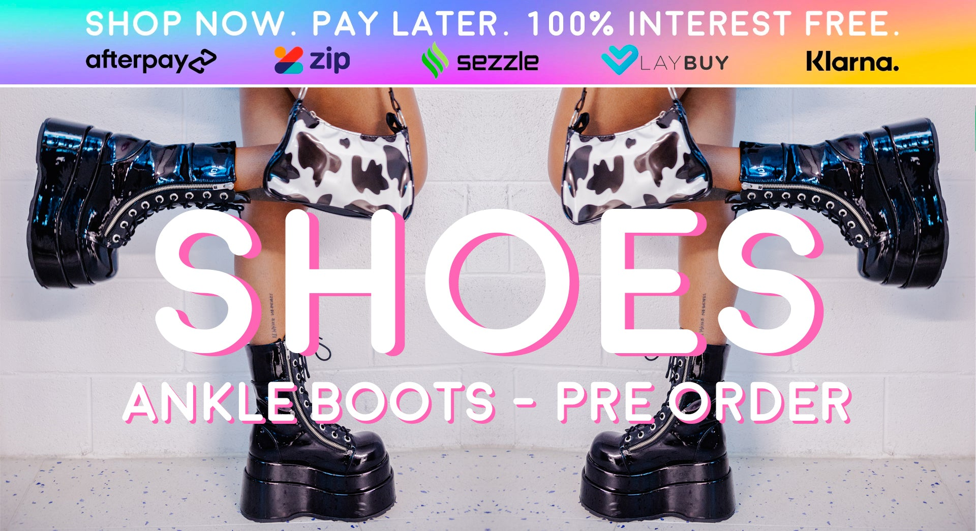 ankle boots - pre order