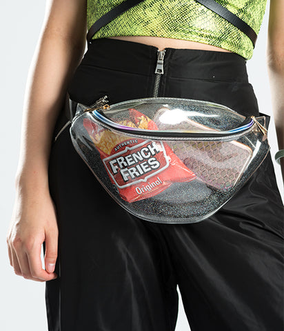 DISCO CHILD GLITTER BUMBAG