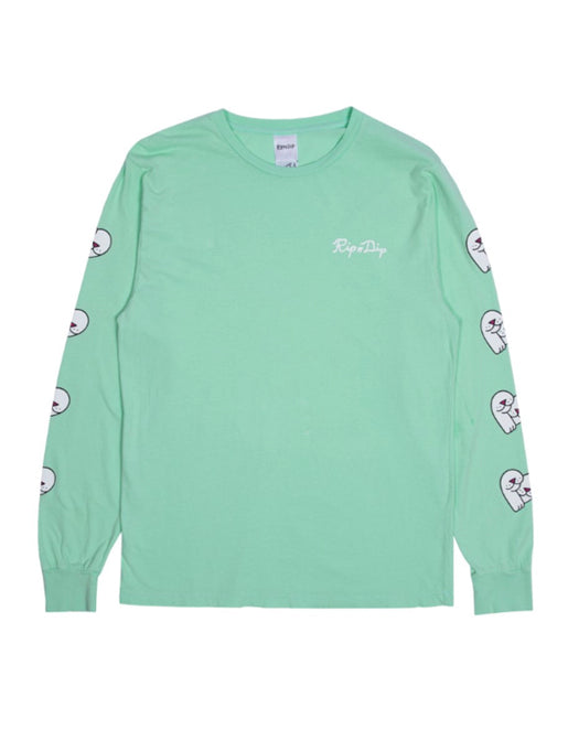 LOVE NERMS LONG SLEEVE TOP - MINT