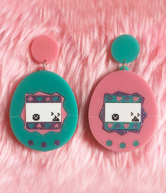TAMAGOTCHI EARRINGS