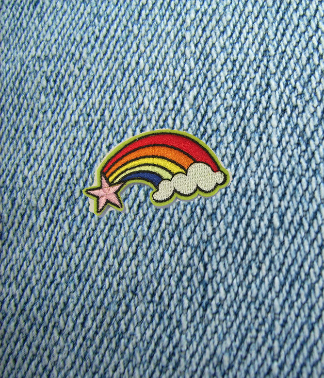 RAINBOW STYLING IRON ON PATCHES