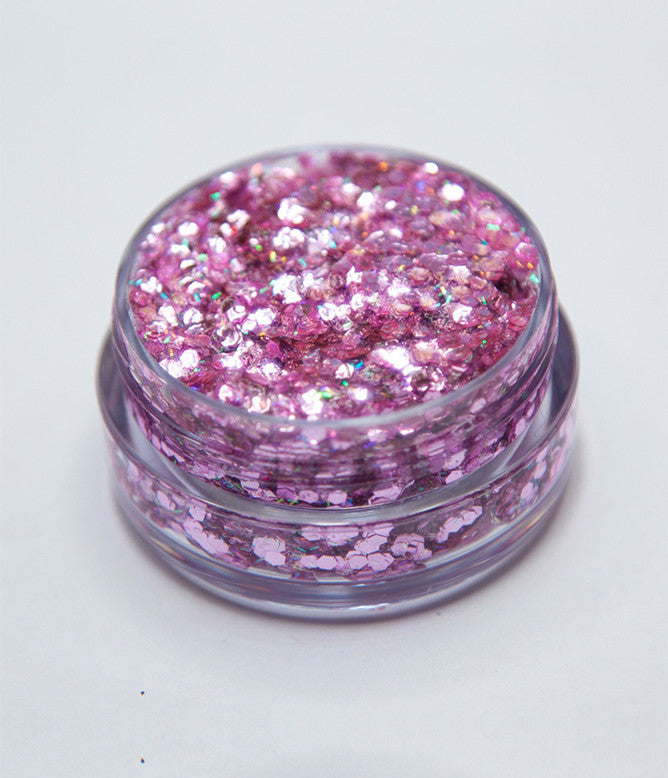 PRETTY IN PINK COSMETIC GLITTER GLUE