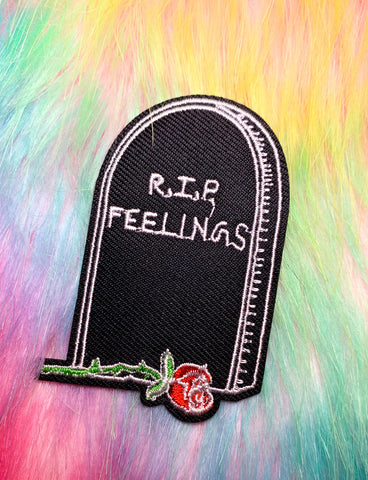RIP FEELINGS PATCH