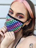 TRIP BUTTERFLY DUST MASK - RAINBOW