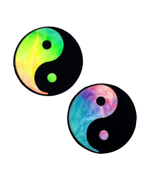 YIN YANG NIPPLE PASTIES - BUBBLEGUM