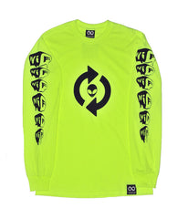 I.A.D RELOAD NEON LONG SLEEVE TEE