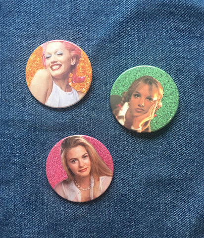 90S BABE BADGES