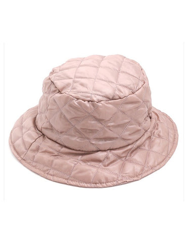 OCEAN ALLEY QUILTED BUCKET HAT - TAUPE