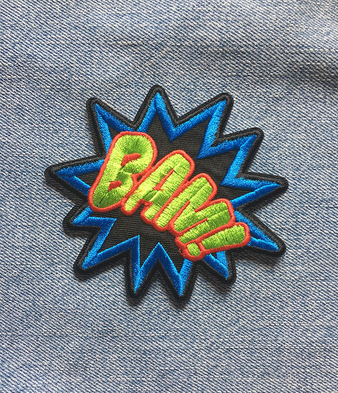 BAM IRON ON PATCH