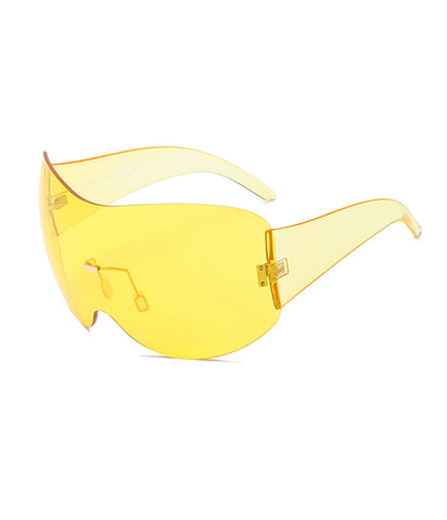 B QUEEN SHADES - YELLOW