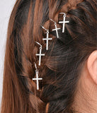 HAIR RINGS - CROSS