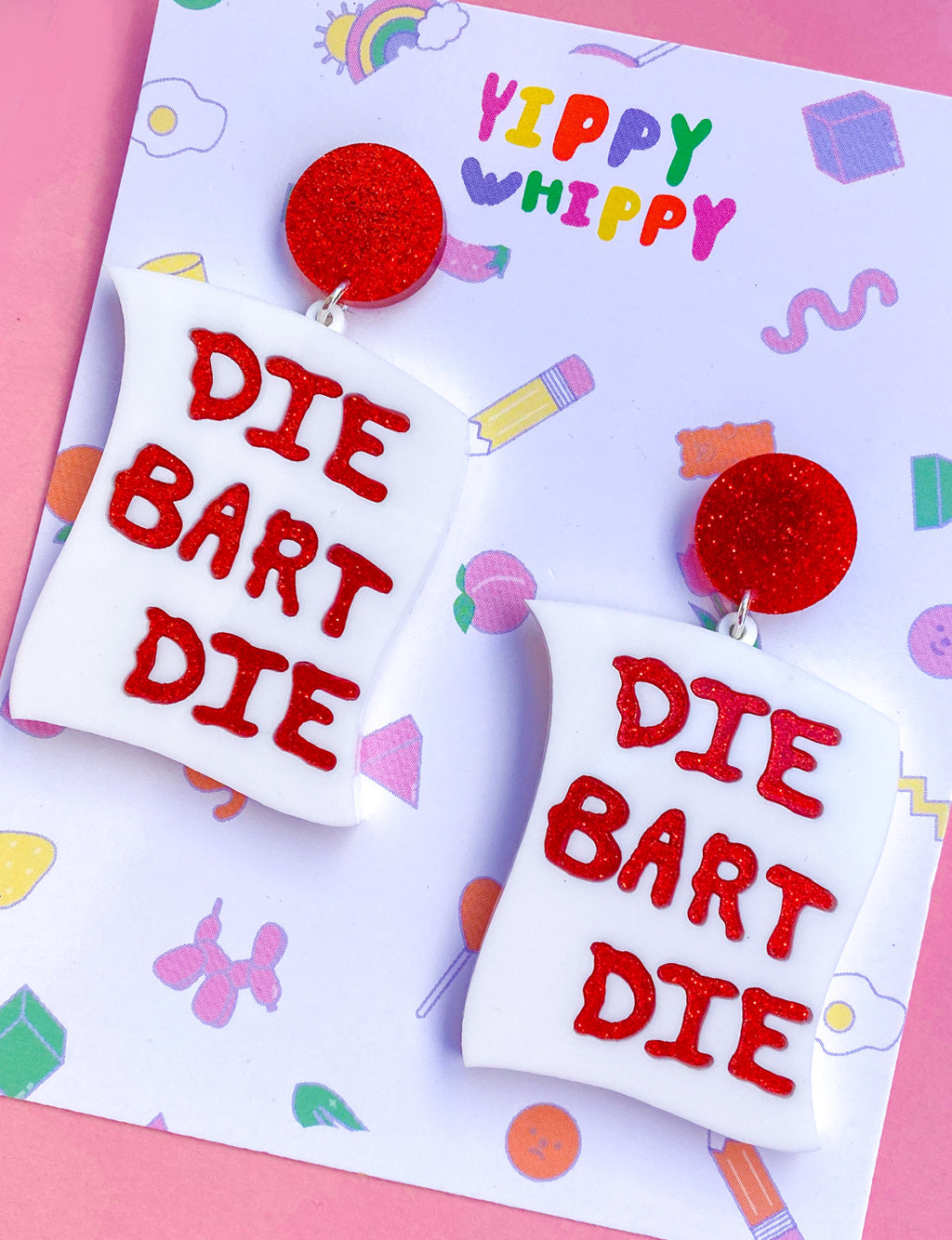 DIE BART DIE EARRINGS
