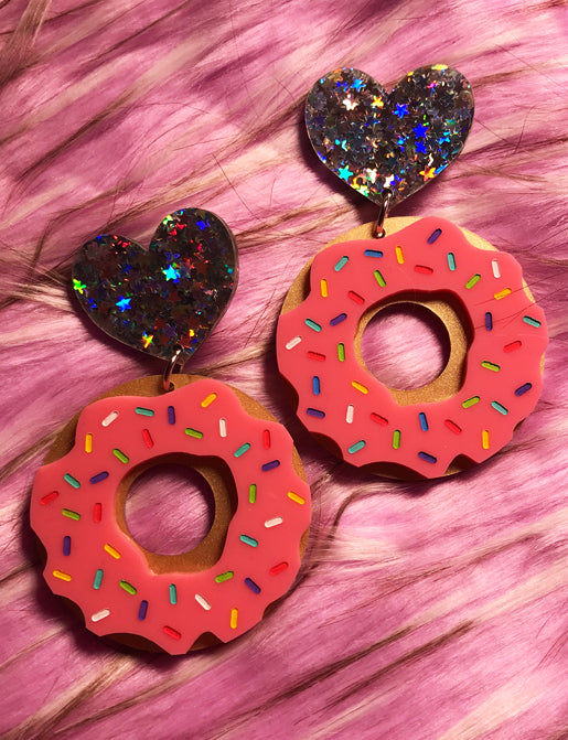 NUTS ABOUT DONUTS EARRINGS