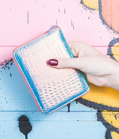 THE IRIDESCENT WALLET