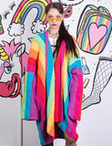 *RETURNING SOON* RAINBOW STRIPE CARDIGAN