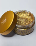 GOLD BIODEGRADABLE HAIR GLITTER GLUE