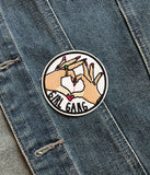 GIRL GANG FOREVER IRON ON PATCH